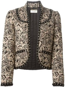 Saint Laurent Studded Paisley Jacket