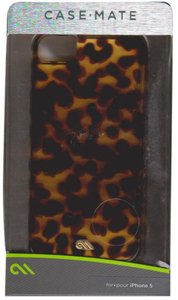 Case-Mate Case-Mate Studio Tortoiseshell Pattern Hardshell Cover iPhone 5/5S