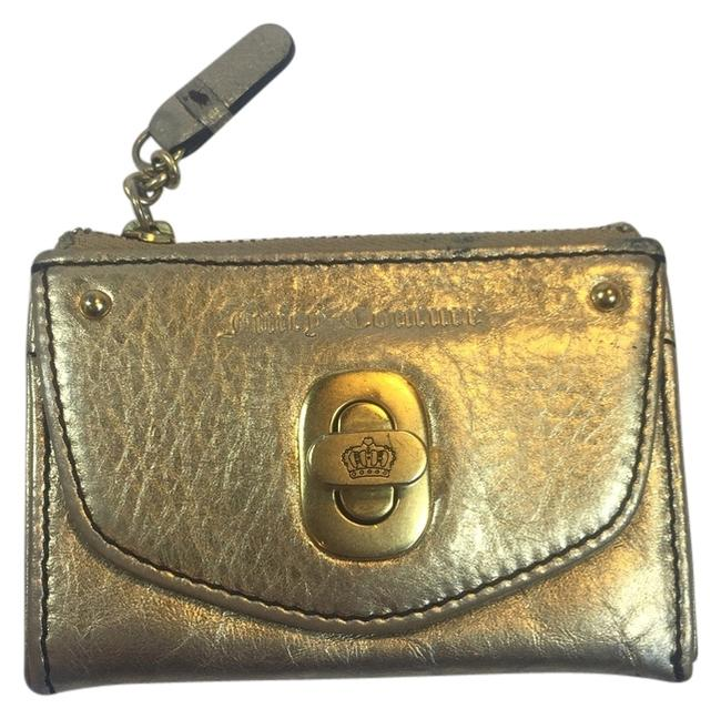 Item - Gold Card Case and Key Fob Wallet