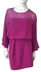 Elizabeth and James short dress Fuchsia on Tradesy