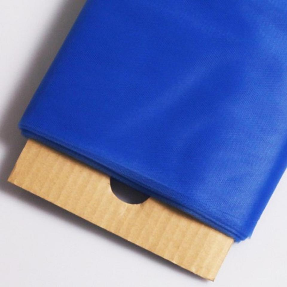 Tulle Fabric Wedding Decorations 54 X 40 Yard Royal Blue Tulle Fabric Bolt Made Of Fine Fabric 100