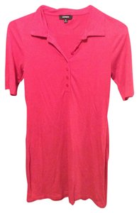 Express short dress Pink Hot Summer on Tradesy