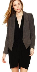 Haute Hippie Suede Suede Sleek Graphite Jacket
