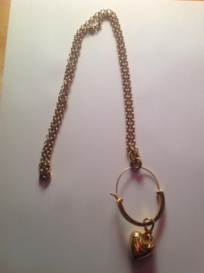 Juicy Couture Charm holder necklace