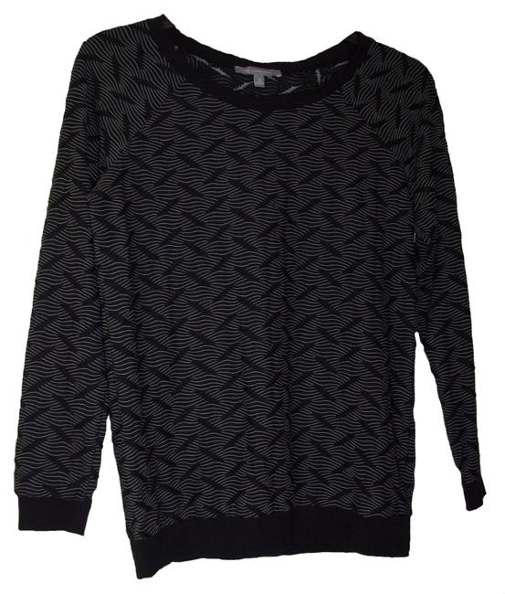 Preload https://item5.tradesy.com/images/ny-collection-black-long-sleeve-boucle-sweatshirt-tee-shirt-size-10-m-1421784-0-0.jpg?width=400&height=650
