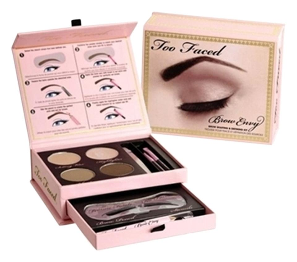 Too Faced Brow Envy Kit Brand New Perfect Brows Tradesy