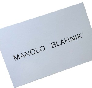 Manolo Blahnik Manolo Blahnik Shoebox With 2 Dust Bags and Tissue Papper