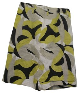 H&M Skirt green, black, tan