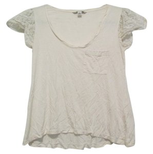 Banana Republic T Shirt cream