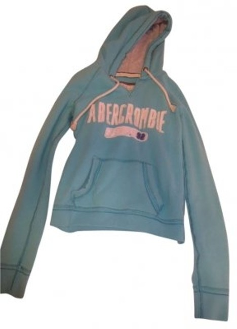 Preload https://img-static.tradesy.com/item/142199/abercrombie-and-fitch-turquoise-light-blue-sweatshirthoodie-size-6-s-0-0-650-650.jpg