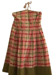 Juicy Couture short dress Pink, peach, green and cream! It a delightful plaid on Tradesy