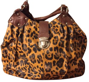 Country Road Satchel in Leopard Print