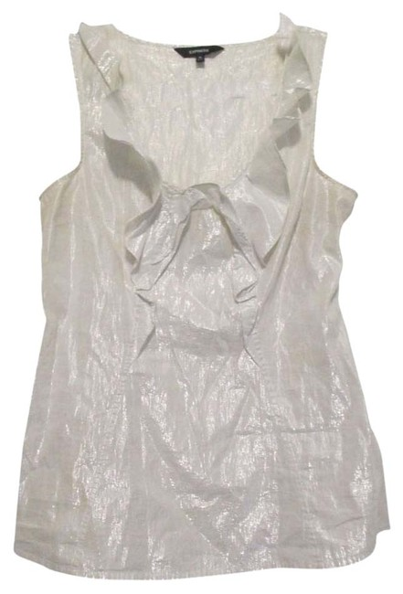 Express Top silver/white