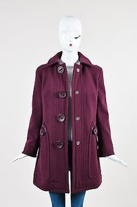 Marc Jacobs Berry Wool Coat
