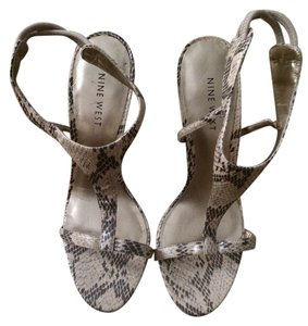 Nine West Golden Sandals
