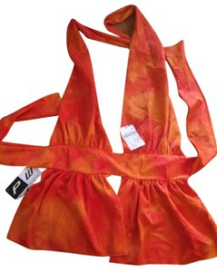 OPRA Orange Halter Top