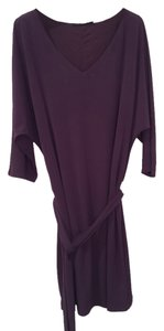 The Limited short dress Dark Purple on Tradesy