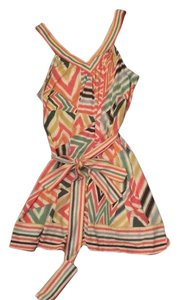 BCBGMAXAZRIA short dress Multi-color print on Tradesy