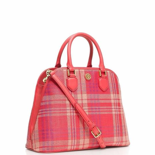 Tory Burch Satchel in Poppy Coral Image 1