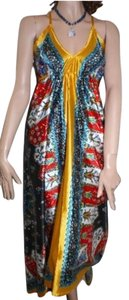 Maxi Dress by & Other Stories Summer Beach Colorful