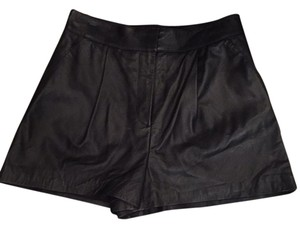 Rachel Zoe Mini/Short Shorts Black