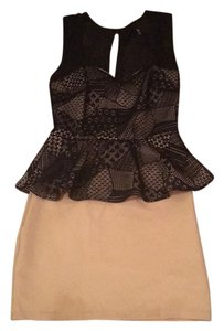 Love Culture Lace Beige Dress