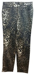 Camper Cambio Animal Print Jeans Pants