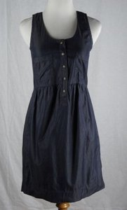J.Crew short dress Blue J Crew 00 Denim Tank on Tradesy