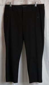 Banana Republic Petite Capri/Cropped Pants Black