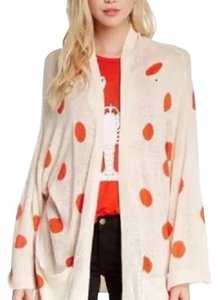 Wildfox Polkadot Oversized Hot Cardigan