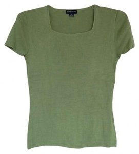 Ann Taylor T Shirt Green