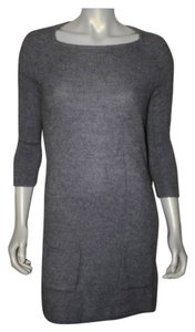 TSE short dress grey Wool Tunic on Tradesy