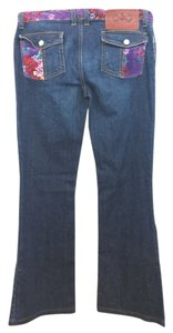 Dolce&Gabbana Dolce & Gabbana Blue Boot Cut Jeans-Medium Wash