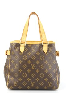 Louis Vuitton Brown Batignolles Satchel in Monogram