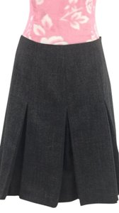 Escada Mini Skirt Gray