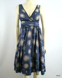 Odille short dress Multi-Color Blue White Floral on Tradesy
