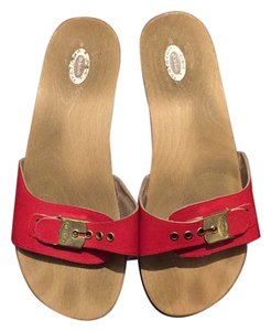Dr. Scholl's Red Sandals
