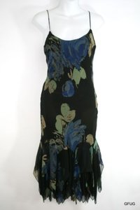 Betsey Johnson short dress Multi-Color Black Blue Art on Tradesy