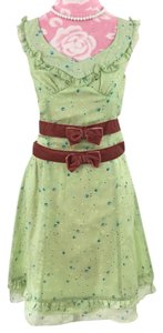 Marc Jacobs short dress Green on Tradesy