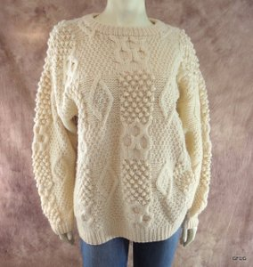 Sharper Image Pure Wool Sweater
