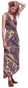 Anthropologie short dress Mango Bohemia Maxi Anthro Wrap Motif on Tradesy