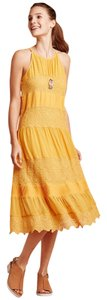 Anthropologie short dress Mango Bohemia Boho Maxi Lace on Tradesy