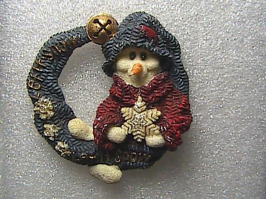 Vintage Vintage Hand Made Christmas Brooch