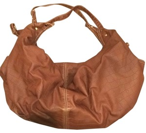 Forever 21 Hobo Tote Shoulder Satchel in Brown