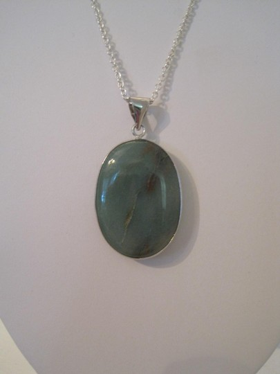 Other ARTISAN GREEN AVENTURINE GEMSTONE NECKLACE