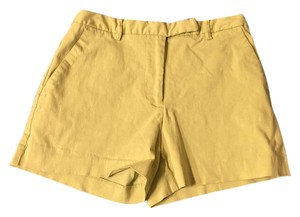 Express Classic Preppy Trendy Cargo Shorts Yellow