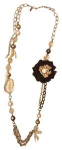 New York & Company New York & Company Long Floral Necklace