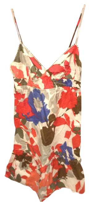 American Eagle Outfitters short dress Multicolor Floral Cutout on Tradesy