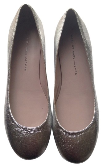 Marc Jacobs Silver Flats