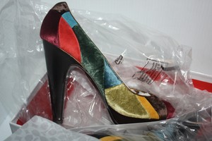 Coach Limited Edition Multi patchwork/limited edition/very rare Pumps